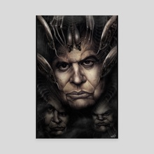 H.R. Giger - Canvas by Rafael Rivera