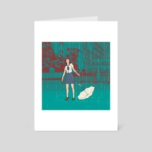 Pluviophile - Art Card by Alliah Gregorio