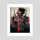 Japan's Oni - Art Print by John Trinh