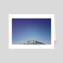 Mount Rainier - Art Card by Leah Flores