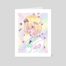 Yami Kura - Art Card by Gelsey Jian