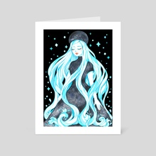 Esprit de l'Eau  - Art Card by Lune ☾