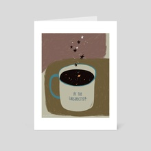 Be the Unexpected - Art Card by Angel Chang