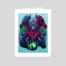 Mutant Dogz - Art Card by Brock Hofer