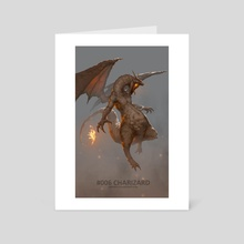 #006 CHARIZARD - Art Card by Jesse Keisala