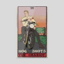 The Chariot - Acrylic by AJ Johnson