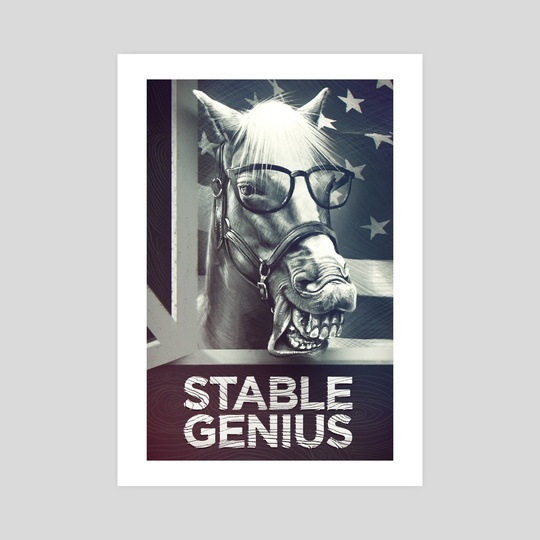 Stable Genius by Sean Cumiskey