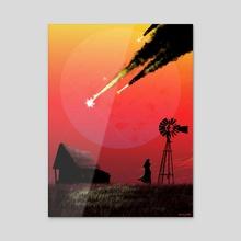 Failure Upon Reentry - Acrylic by Browan Lollar