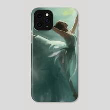 Ballerina - Phone Case by Jovan Maletic