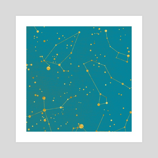 Northern Celestial Hemisphere by Feroniae