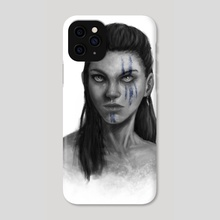 Goddess Of War - Phone Case by José Sánchez Bustamante