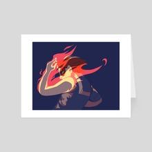 Favor Fire - Art Card by Valerian