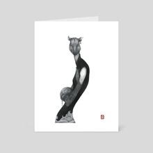 Chinese Zodiac #1_ Rat - Art Card by LU KE