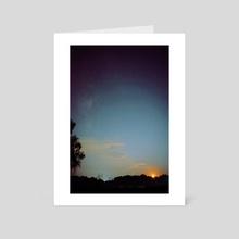 Sparkling Sky - Art Card by Nazar Hrabovyi