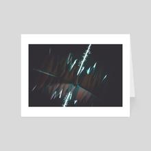 flurried beam - Art Card by drewmadestuff