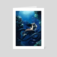Undersea Romance - Art Card by Jason Chan