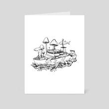 Underwater Trip - Art Card by Aimee Lockwood
