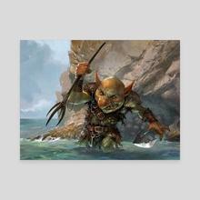 Warren Instigator - Canvas by Svetlin Velinov