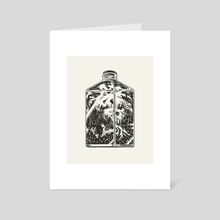 Bottle Panther - Art Card by Talisman BA