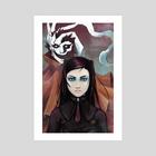 Ergo Proxy - Art Print by Amy Gerardy