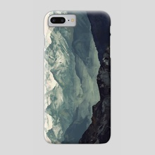 Mountain Fog - Phone Case by Micaela Blondin