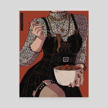 Mom's Spaghetti - Canvas by Nuroholic