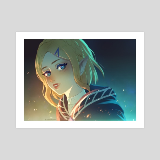 Zelda by Maria Shirko