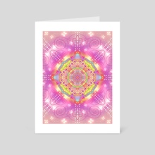 Mandala Five - Art Card by Haile Dietz