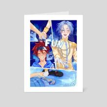 Cindereki comic - Art Card by Shiroi Sayuri