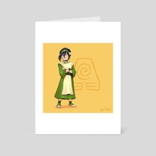 Toph - ATLA (v1) - Art Card by Luz Tapia