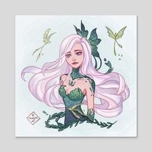 Fairy queen - Acrylic by Chooosemi