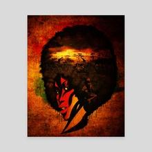 Afroca - Canvas by ERICK MARK OBISPO
