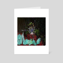 STP Screen Transfer Process - 0124 - World Tree Overgrowth 6 - Art Card by Wetdryvac WDV