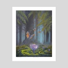 Deep Forest Secrets - Art Print by Arthur Herring
