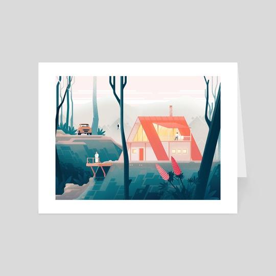 Black Forest Cabin by Rob Blumenauer