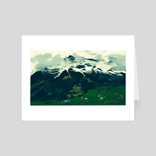 Swiss 3 - Art Card by Jenna Vincent