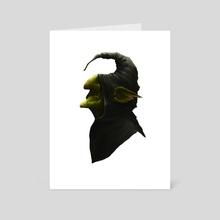 Goblin Portrait - Art Card by Michael Sanchez
