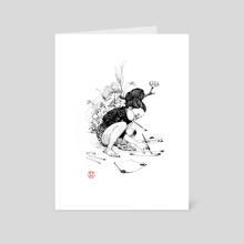 Drawings - Inktober 2018 - Art Card by Will Murai