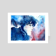 Fanart: GRIS - Art Card by Sin Ribbon