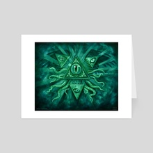 Eye of Truth - Art Card by Adam S Doyle