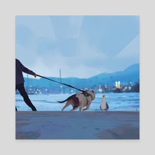 Stubborn - Canvas by Atey Ghailan