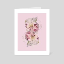 Crying For Spring - Art Card by Jelena T