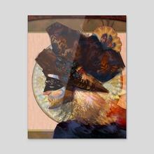 Renaissance Riff - Acrylic by TS Larking