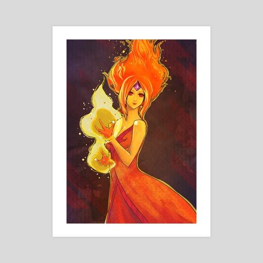 Flame Princess by Kathy Yang