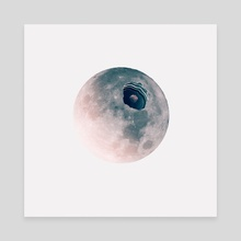 Moon space - Canvas by Marcos Morales