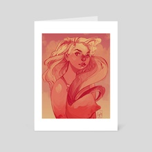 Passion - Art Card by Angelica Fatourou