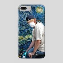 Street Art with Van Gogh - Phone Case by Mehmet Geren