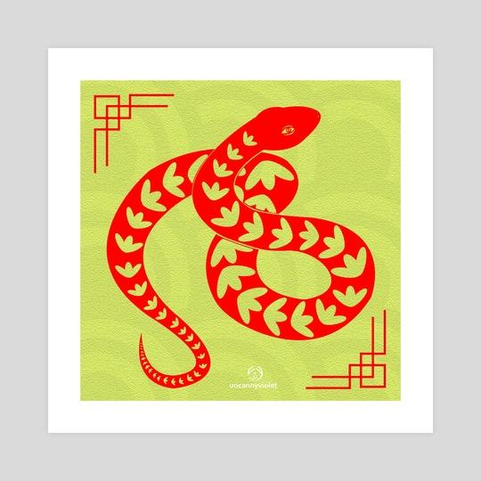 Animal Cutout - Snake by Vii Yu