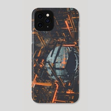 infrastructuralable - Phone Case by drewmadestuff