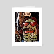American Monsters: Mavis - Art Card by Ben Moss